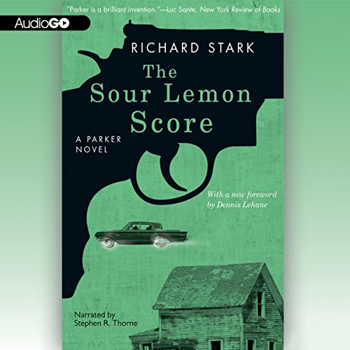 The Sour Lemon Score audiobook cover art