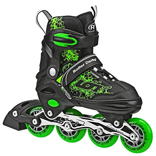 Roller Derby ION 7.2 Inline Skates with Aluminum frames and Adjustable Sizing...