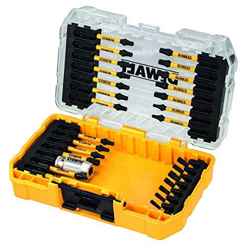 Dewalt Extreme Flextorq Schrauberbit-Set (29-teilig, Bit-Set mit Kunststoff-Box, für Profis- und Hobby-Handwerker) DT70734T-QZ