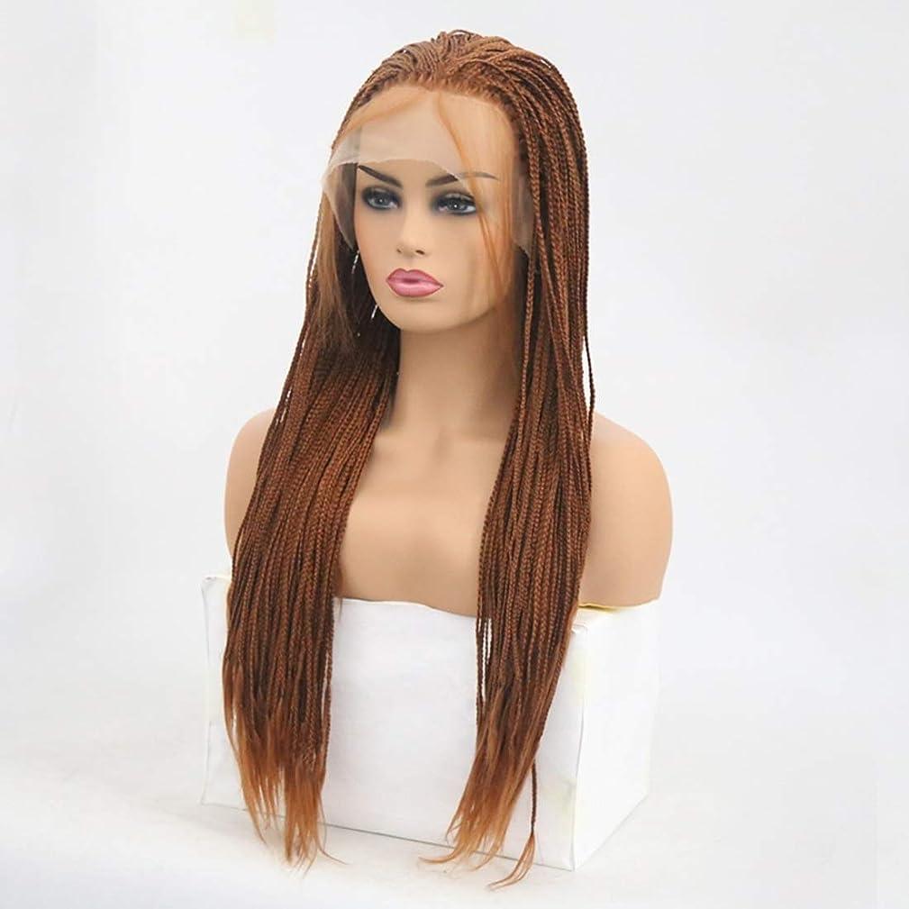 たぶん開始方法Summerys 女性のための前髪の髪のかつらで絹のような長いストレート黒かつら耐熱合成かつら (Size : 24 inches)