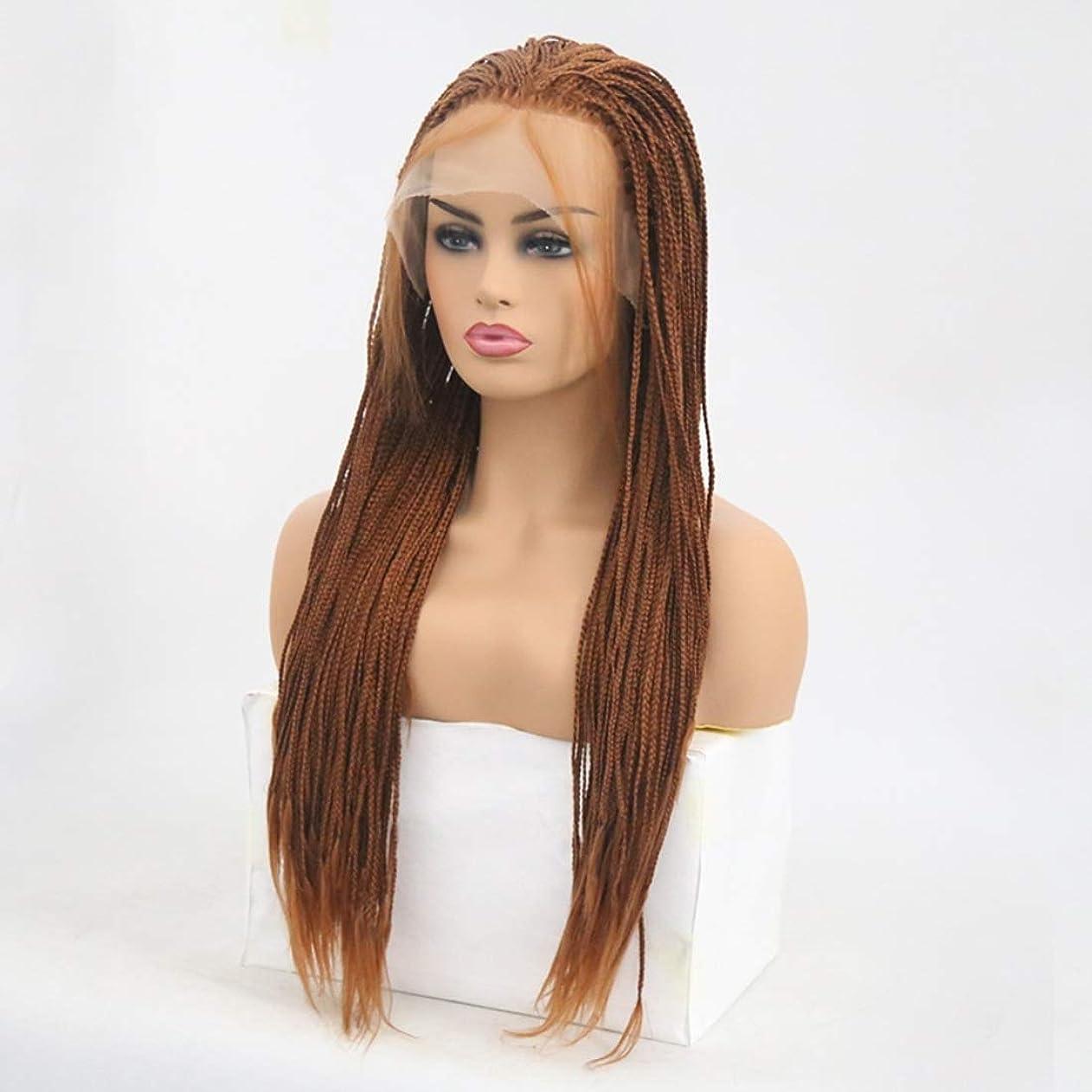 間隔パトロールオークSummerys 女性のための前髪の髪のかつらで絹のような長いストレート黒かつら耐熱合成かつら (Size : 24 inches)