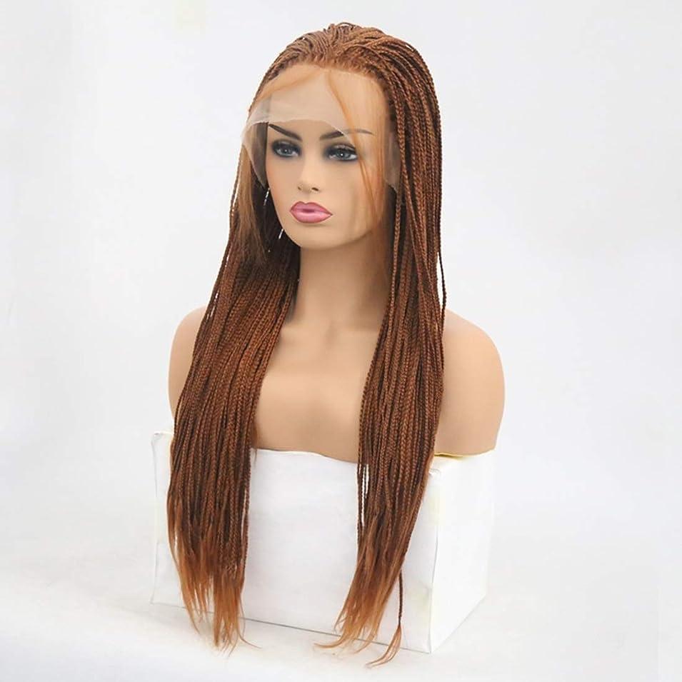 強盗大使館有益Summerys 女性のための前髪の髪のかつらで絹のような長いストレート黒かつら耐熱合成かつら (Size : 24 inches)