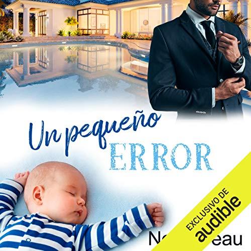 Diseño de la portada del título Un pequeño error (Narración en Castellano)