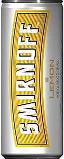 12 Dosen a 250ml Smirnoff Lemon Mixed Vodka 10% vol. inc. 3.00€ EINWEG Pfand