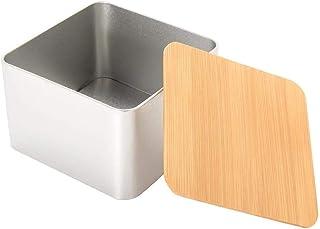 Accueil Pots à épices Boîte de Rangement pour Pain en métal Vintage Boîte à Sucre pour gâteau au thé Contenants en Argent ...