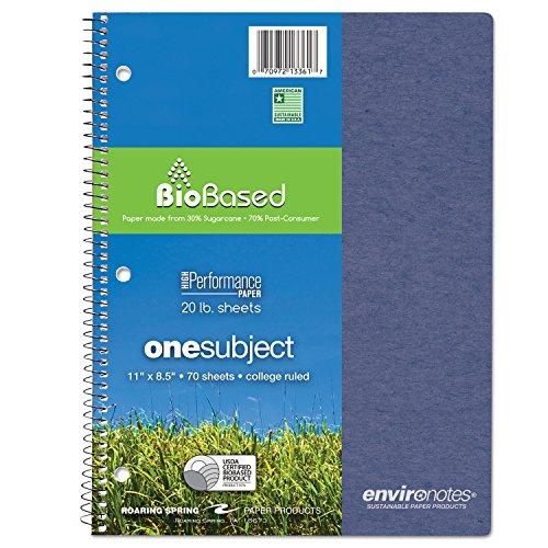 ROA13361 - Roaring Spring Environotes Sugarcane Notebook