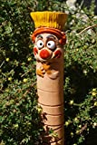 TB Keramik Gartenwurm Skater mit Wasserspeicher Gartenkeramik Wurm Dekoration