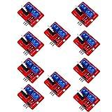 Acxico 10Pcs IRF520 Power MOSFET Driver Module For Arduino MCU ARM Raspberry pi