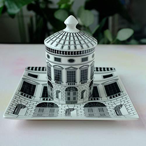 Fornase ttiqk Neuschwanstein Castle Essteller Deko Teller Kerzenhalter Kerzenglas Deko Teller Home Decoration Saucer