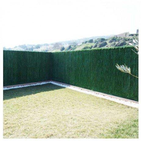 Atout Loisir Haie végétale Artificielle Ultra 126 brins 21 m - Hauteur : 1.80 m Vert