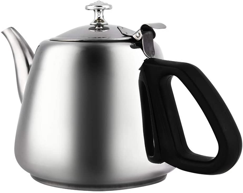 LALY Stainless Steel Teapot Ranking TOP1 Quick Max 73% OFF Coffee P Stove-top Heating Tea