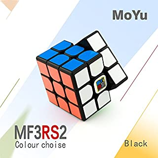 Cubelelo Mofang Jiaoshi Mf3RS2 3x3 Black Base Speedcube 3x3 Magic Cube Puzzle
