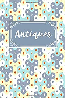 Antiquer: Gift Lined Journal Notebook To Write In