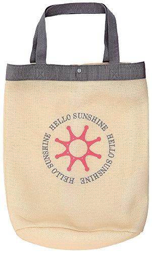 【Hello Sunshine/ハローサンシャイン】 ランドリーバッグ (洗濯・乾燥機OK) ベージュ LAU-01-2