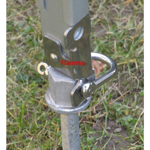 Crusader auvent cAMPING fixation spécial schraubheringe règle en aluminium trempé inoxydable manille sur tête 25 mm-lot de 3 taille-le dans son plus-lot de 3 à 24 mm tête acier inoxydable metallschäkel le sTABIELO-pROFI-wurmi avec sPEZIALHÄRTUNG-schraubheringe-crochets-wurmi-produits pour le cAMPING, caravanes-oUTDOOR-loisirs-fabriqué en allemagne-tEST réussi à long terme-fabriqué en allemagne-innovation holly produits sTABIELO ®-holly-sunshade ®
