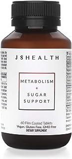 JSHealth Vitamins, Metabolism and Sugar Support Formula, Blood Sugar Balance, Healthy Natural Energy Suppor...