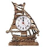 GARNECK Sveglia per Barca a Vela Orologio da Comodino per Bambini Orologio da Tavolo Vintage Modello per...