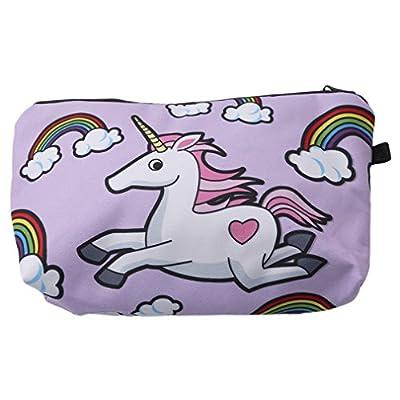 Unicorn Multi purpose Printed Makeup Bag- Pencil Case Or Cosmetic Brush Case