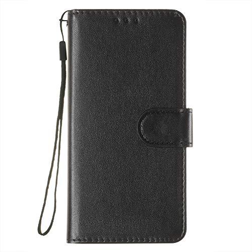 Docrax Handyhülle Lederhülle für Galaxy A3 2017, Flip Case Schutzhülle Hülle mit Standfunktion Kartenfach Magnet Brieftasche für Samsung Galaxy A3 (2017) - DOYHU250043 D3