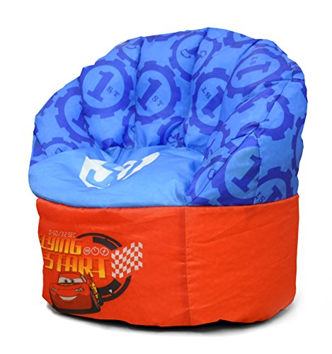 Disney Pixar Cars Toddler Bean Bag Chair, Blue,