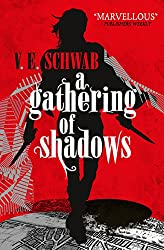 Books to read while traveling | Shades of Magic, V.E.Schwab