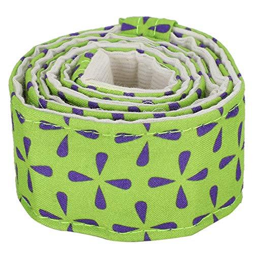 ciciglow Cinturón Uniforme para Hornear, Hecho de Tela, tamaño: Aprox.80x3.7cm / 31.5x1.5in, para Usar Durante el horneado.(Black Green 78043B)