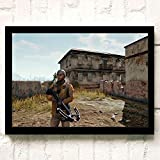 XWArtpic PUBG 3D Online FPS Juego táctico competitivo Carácter Arma Cartel...