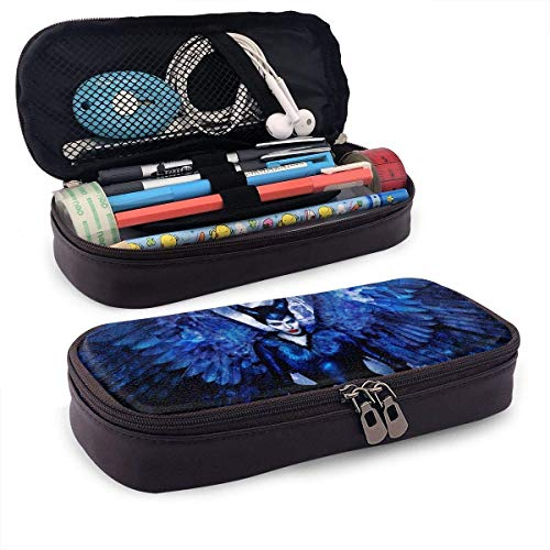 Maléfica caja de lápices bolsa de bolígrafo bolsa de maqu