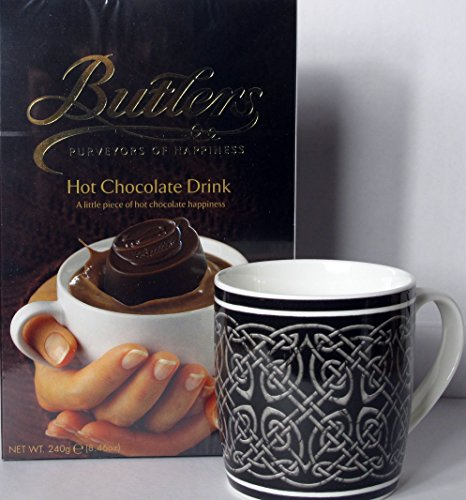 Irische Trinkschokolade und Keltischer Becher Infinity Knoten
