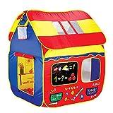 Maison de jeu for les enfants d'intérieur, Tente for enfants avec fenêtre, facile à assembler, se range facilement dans les...