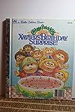 Cabbage Patch Kids: Xavier's Birthday Surprise (Little Golden Books)