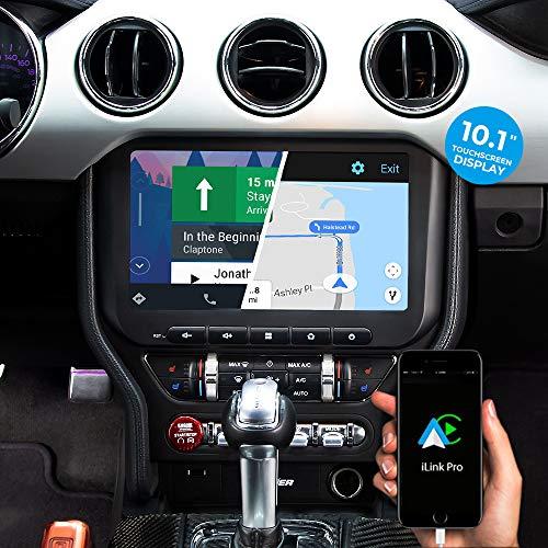 DYNAVIN Autoradio Navi für Ford Mustang VI 2015-2021; 10,1 Zoll Radio mit Carplay und Android Auto | Bluetooth | inkl. DAB+ | USB; N7-MST2015H Pro