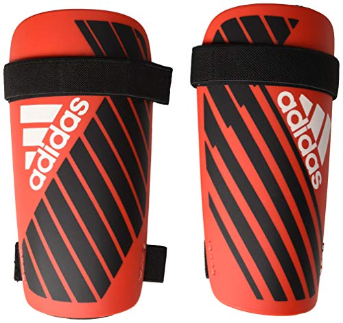 adidas Adult X Lite Shinguard, Active Red/Black/Off White, X-Large