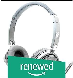 (Renewed) Boat 910 On-Ear Lightweight Wired Hands-free Headphones