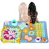 Morfone Alfombra olfatear para perros,esterilla olfatear para mascotas lavable y plegable, para entrenamiento de mascotas, perros, gatos, entrenamientos, , juguetes,