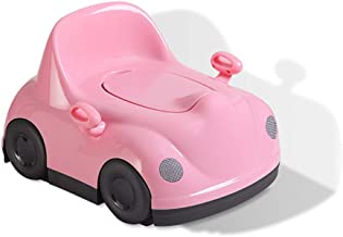 Toilet Trainer,Fun Toddler Baby Tray Toilet Baby Potty Trainer Silla con Asas y Respaldo KELEQI Orinales Infantiles