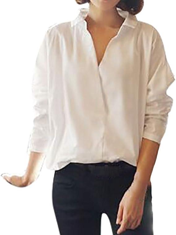 Fossen Blusas para Mujer Verano Otoño 2019 Elegantes ...