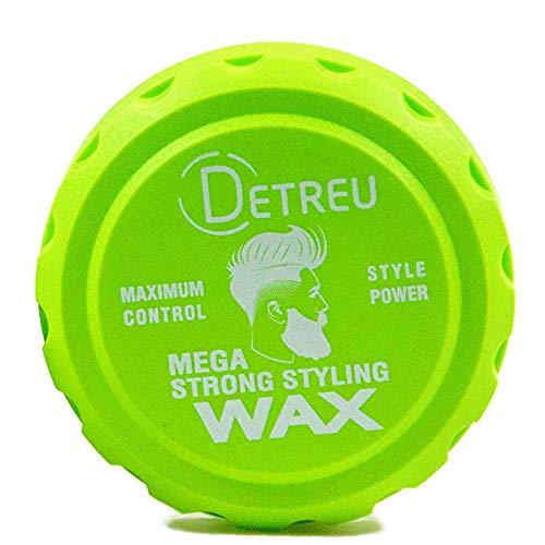 Detreu Mega Strong Titan Matt-Wax 140ml Matte-Wax Haarwachs Styling-Wax Matt-look Natürliches aussehen Haar Styling-Creme Matt Effekt