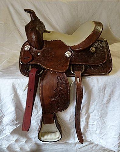 Esposita Westernsattel Set Texas Kids für Shetty und Pony, echtes Leder 10