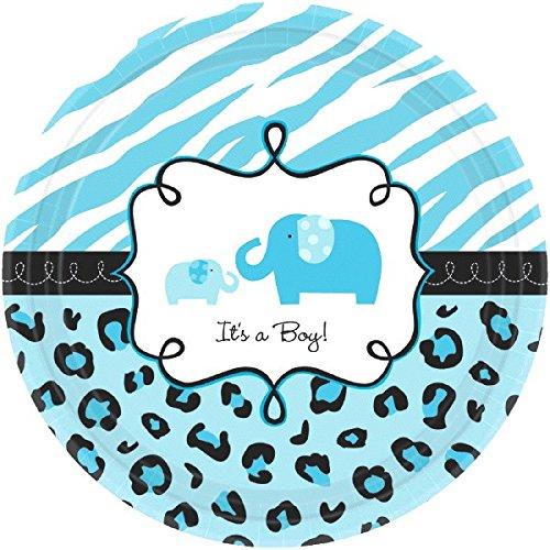 Blue 'It's a Boy' Sweet Safari Plates