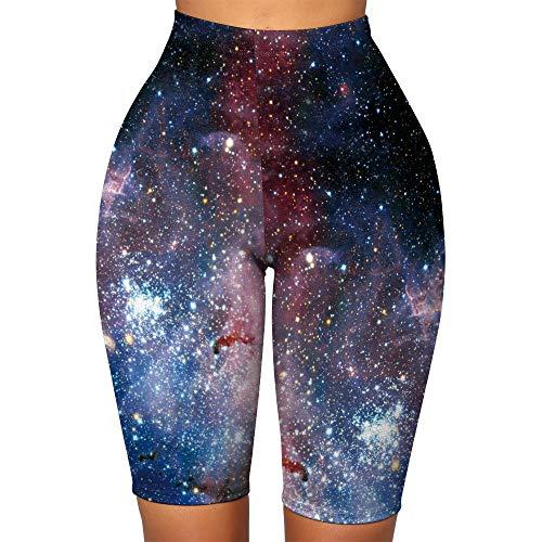 bayrick Nuevo en 2021,Nuevas Estrellas 3D Impresión Digital Pantalones de Yoga de Cinco Pantalones-2_SG