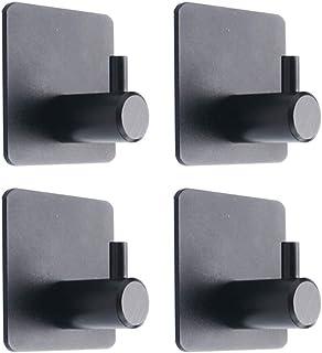 Gobesty Acero Inoxidable Colgador Trapos 12 Piezas Autoadhesivo Toallas Fuertes Adhesivos Colgadores para No se Requiere Perforaci/ón