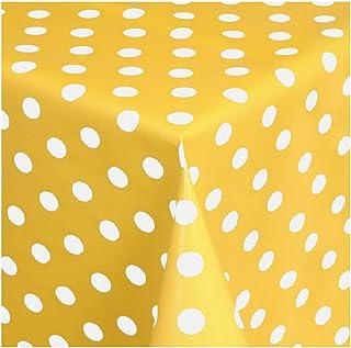 KEVKUS Tovaglia cerata 160 cm larghezza B8988-01 girasoli giardino estate primavera a scelta in quadrato rotondo ovale