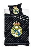 Real Madrid RM181052-135 - Juego de cama (135 x 200 cm)