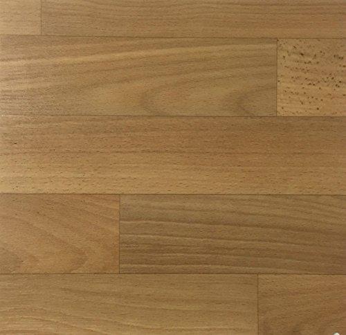 PVC Vinyl-Bodenbelag in Buche Schiffsboden-Optik | CV PVC-Belag verfügbar in der Breite 400 cm & Länge 400 cm | CV-Boden wird in benötigter Größe als Meterware geliefert | rutschhemmend & robust