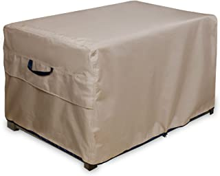 ULTCOVER Patio Deck Box Storage Bench Cover - Waterproof Outdoor Coffee Table Cover and Ottoman Covers 44 x 28 inch