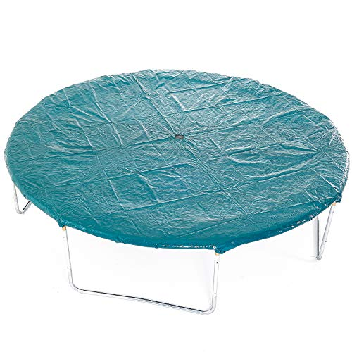 Skyhigh 8ft 10ft 12ft 14ft Trampoline Cover Weather and Rain Protection. Secure even in High Winds (10ft)