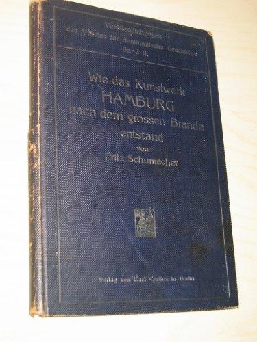 Wie das Kunstwerk Hamburg nach dem großen Brande entstand. Ein Beitrag zur Geschichte des Städtebaus