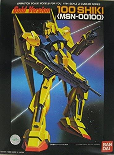 [Limited] Mobile Suit Z Gundam 1 144 MSN-00100 Hyaku Shiki Gold version  Plastic  (japan import)