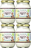 (4 Pack) CocoTherapy Organic Virgin Coconut Oil, 16 oz for Pets